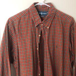 Men's Ralph Lauren long sleeve shirt.